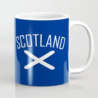 scotland Mugs featuring Scotland by Earl of Grey