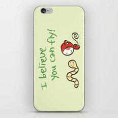 I Believe You Can Fly iPhone & iPod Skin