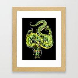 japanese dragon 13 Framed Art Print