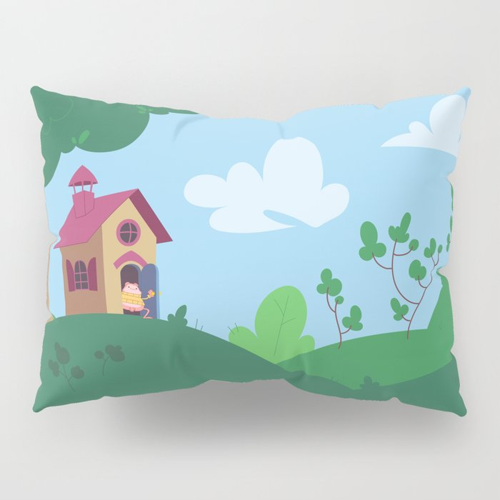 Peepoodo's house Pillow Sham