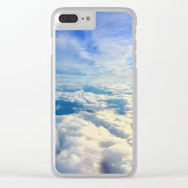Clouded Clear iPhone Case