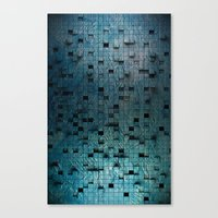 grid Canvas Prints featuring Grid by Tayler Smith