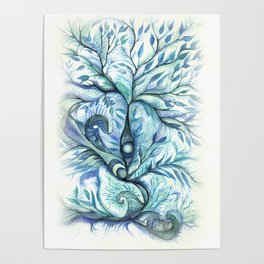 Tree of Life (blues) Poster