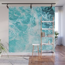 Perfect Sea Waves Wall Mural