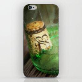 Wine Bottle Food Art by Murray Bolesta! iPhone Skin