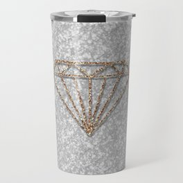 Glitter Diamond Travel Mug