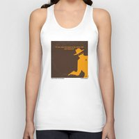 lawyer Tank Tops featuring No202 My The Lone Ranger minimal movie poster by Chungkong