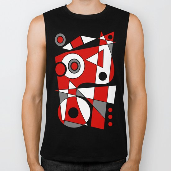 Abstract #485 Biker Tank