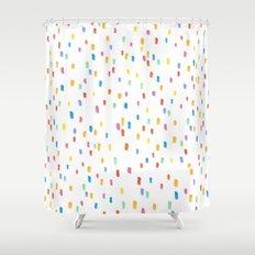 Sprinkles Shower Curtain