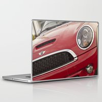 mini cooper Laptop & iPad Skins featuring Mini by SShaw Photographic