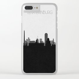 City Skylines: Yekaterinburg Clear iPhone Case