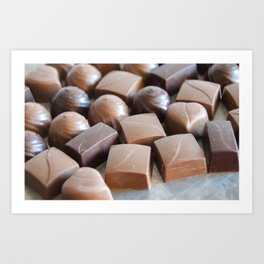 Chocolate 3 Art Print