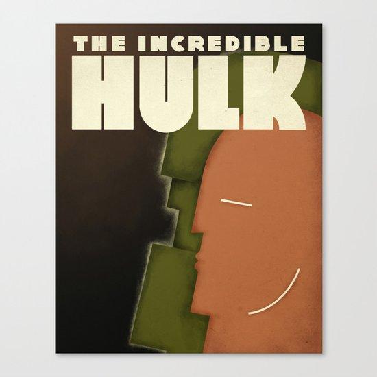 Carlu Spirit - Hulk Canvas Print