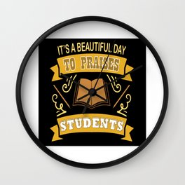 Students Wall Clock