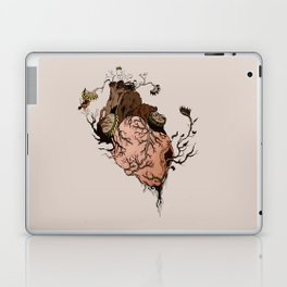 Carnivorous Plant Heart Laptop & iPad Skin