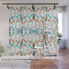 Small Irregular Shapes Pattern Wall Mural