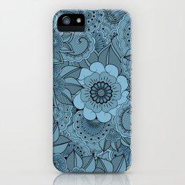 Moonflowers. iPhone Case