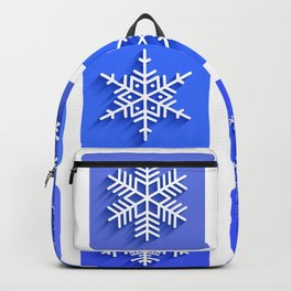 Snowflakes collection Backpack