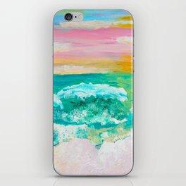 Pink Sand Sunset iPhone Skin