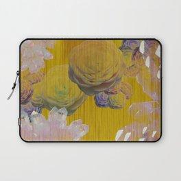 Crystal Camellia  Laptop Sleeve