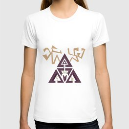 Shelter The Weak Triangles T-shirt