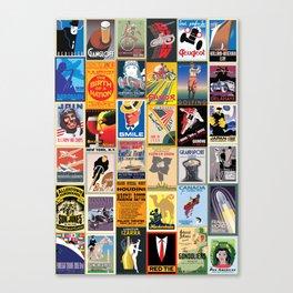 Poster Wallpaper Canvas Print