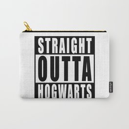 Inspired t shirt 'Straight Outta Hogwarts Carry-All Pouch