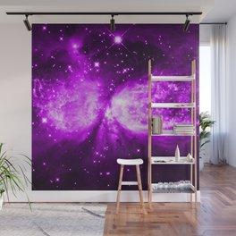 Star Angel Violet Wall Mural