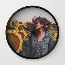 Flower Photography by Gustavo Bautista Reyes Wall Clock