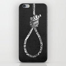 noosepaper iPhone & iPod Skin