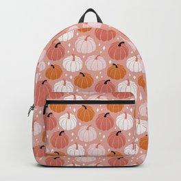 Peachy Pumpkin Backpack