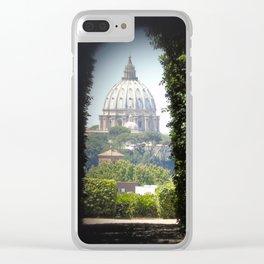 Buco della Serratura Clear iPhone Case