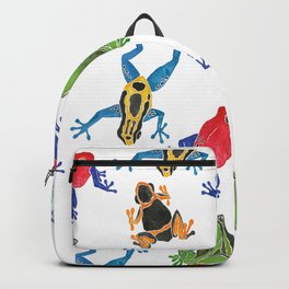 Poison Dart Frogs Backpack
