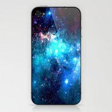 Blue Stars II iPhone & iPod Skin
