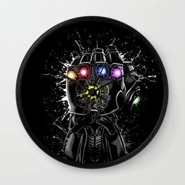 Infinity gems Wall Clock