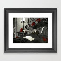 All Hallows Read Framed Art Print