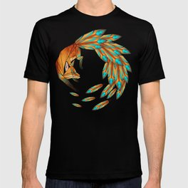 fox circle T-shirt