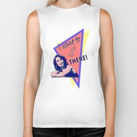 "30 rock Biker Tanks featuring ""I want to go to there!"" (30 Rock) by Galit Zeierman"