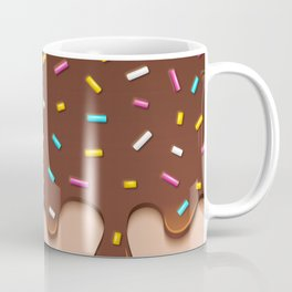 Chocolate Icing with Sprinkles Coffee Mug