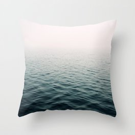 Lost In The Fog Throw Pillow