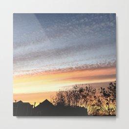Dual Sky Metal Print