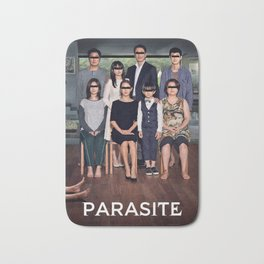 Parasite Family Bath Mat