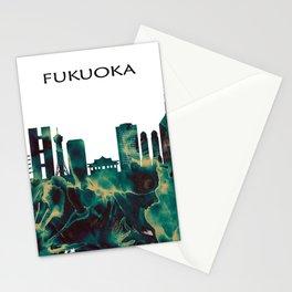 Fukuoka Skyline Stationery Cards