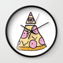 ILLUMINATI PIZZA Wall Clock