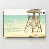jamaica iPad Cases featuring A day in Jamaica by Catherine G