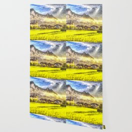 Saint Lorenz Art Wallpaper