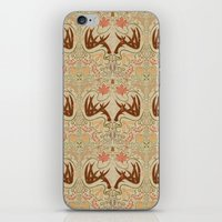 wisconsin iPhone & iPod Skins featuring Wisconsin Pattern by Kayla Catherine Illustration