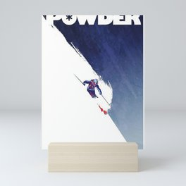 Powder to the People Mini Art Print