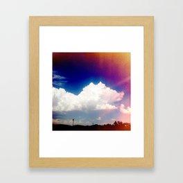 Grainy Day Framed Art Print