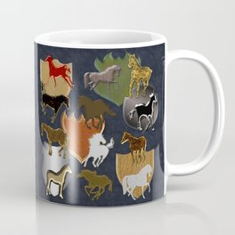 Horsing Around with Heraldry Coffee Mug